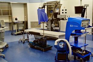 最新鋭の手術室